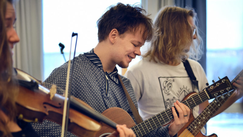 Konsertvecka för musiklinjerna på Birka